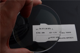 1.56 Flat-top Bifocal AR Coating Semi Finished Lens Blanks For Near And Far Vision