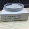 Danyang manufacture Semi finished SF cr39 1.49 bifocal round top eyeglasses optical lens blanks