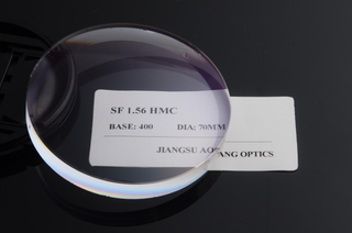 Single Vision 1.56 Ophthalmic Lens Blanks HMC Coated NK55 Japan Monomer