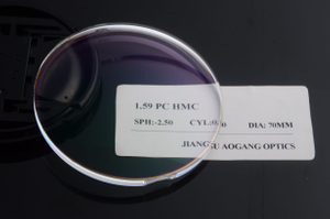 1.59 HMC Polycarbonate Eyeglass Lenses For Reading Functional Coating