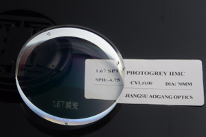 1.67 MR-7 ASP SPIN Photochromic HMC AR Photochromic Lens